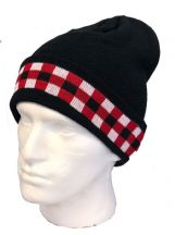 Beanie Hat with Scottish Regimental Dice
